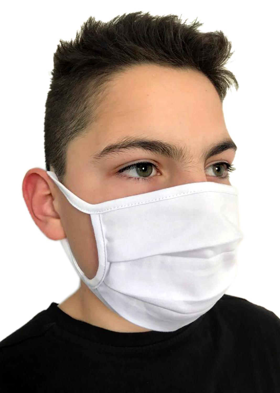 Behelfsmasken für Kinder & Erwachsene Uni